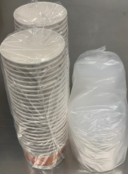 Suppenschaler Pap.Inkl.Deckel(16 OZ - 50 Stk/Pack)