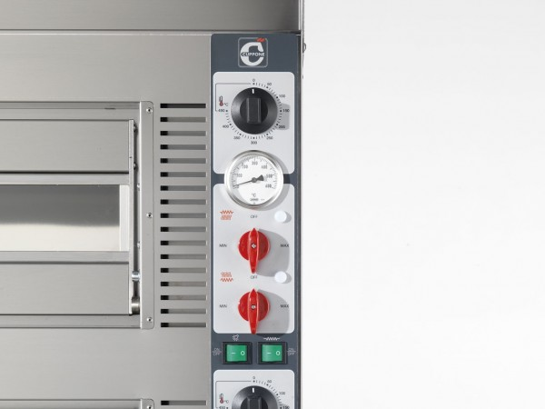Cuppone-Pizzaofen Tiepolo (TP435/1CM 5,30 kW-400V)