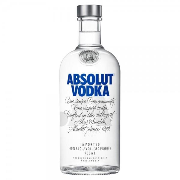 Absolut Vodka 40 % - ( 0,70 Lt Flasche )