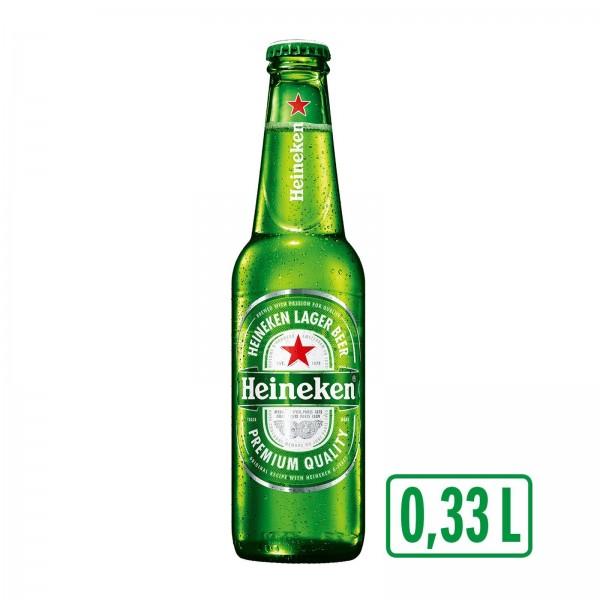 Heineken Bier 0,33 lt. (1x24 Flasche)(54/Pal.)