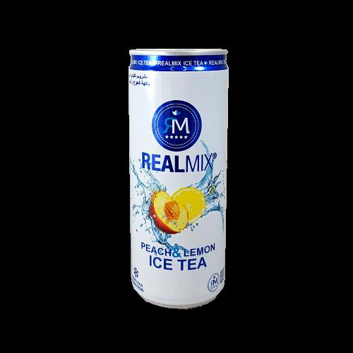 Realmix - Pfirsich&Zitronemix Eistee 0,25lt.(1x24)