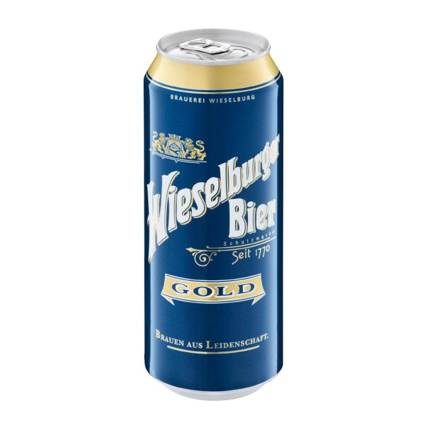 Wieselburger Gold ( 0,50 lt.) -(1x24 Dose)