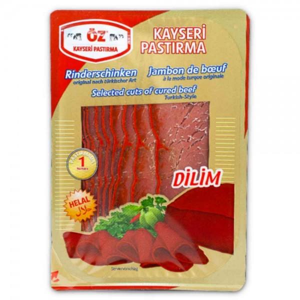 Öz Kayseri Pastirma (8x100 gr./Krt)