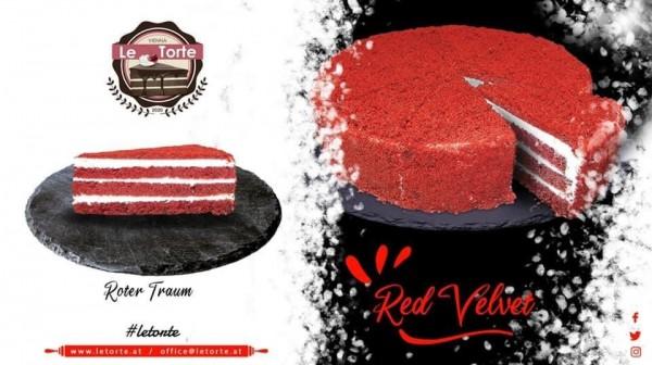 """""""Le Torte"""" Red Velvet Cake (1500gr)"""