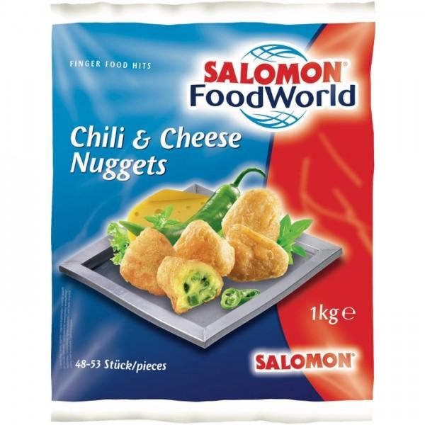 TK - SALOMON Chili & Cheese Nuggets (48-53 Stück, 1 kg/Sack)