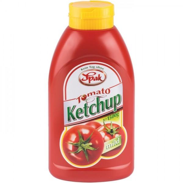Spak Ketchup Mild - 1,5 kg Tube