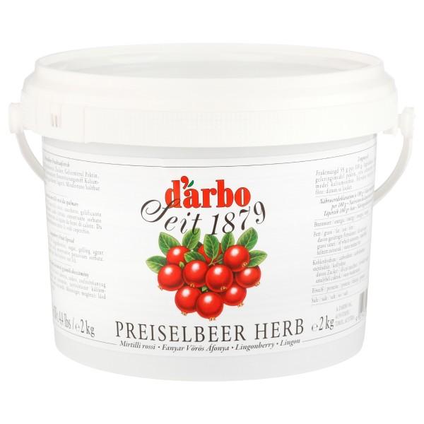 Darbo - Preiselbeer 55% ( 2 kg Kübel )