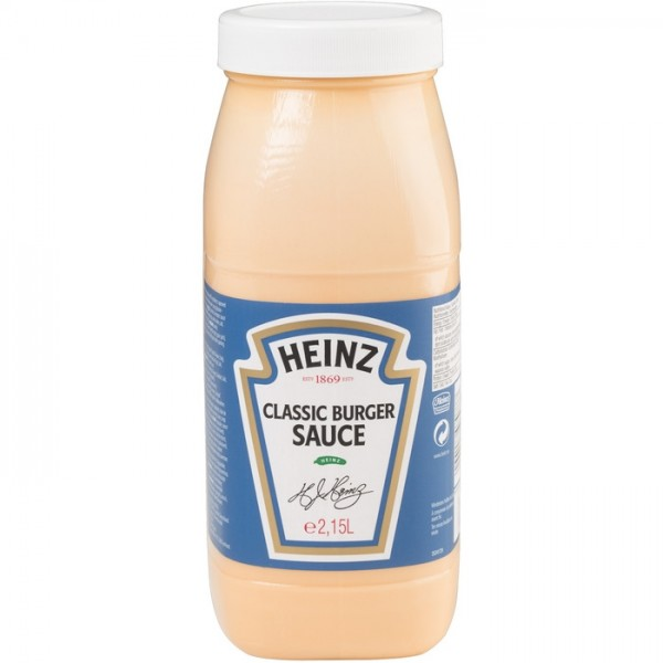 Heinz Classic Burger Sauce - 2,15 Kg Flasche