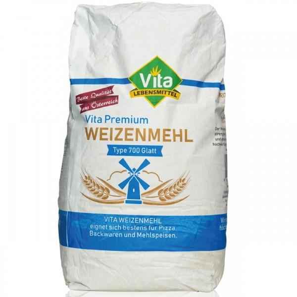 VITA Mehl Spezial Type 700 glatt 10 kg Sack