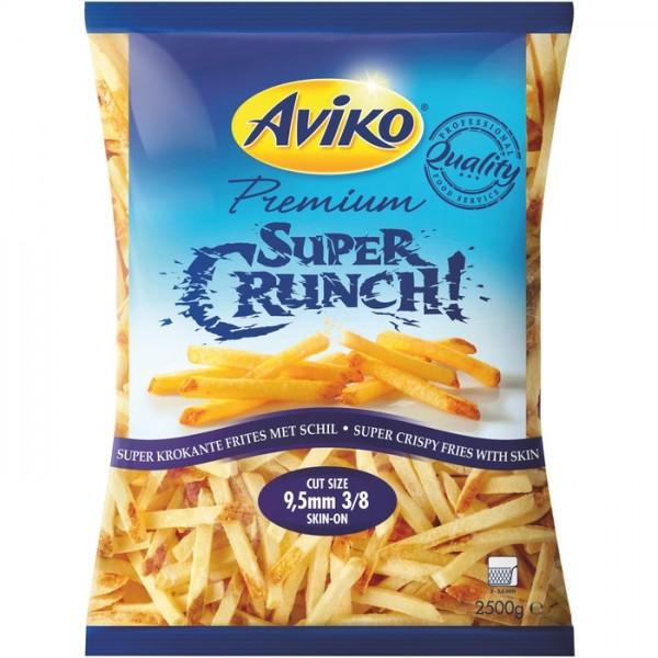 TK - Aviko Supper Crunch Pommes (9,5mm-2,5kg Sack)