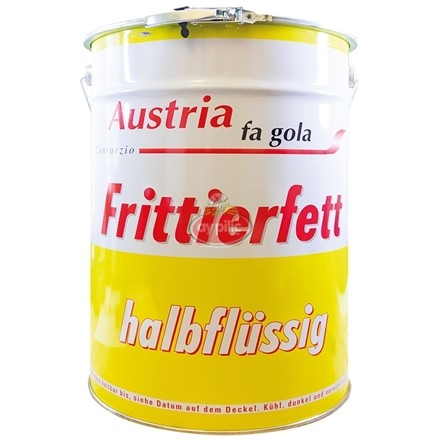 Austria fa gola Fritterfett Halbf. (20 lt./Dose)