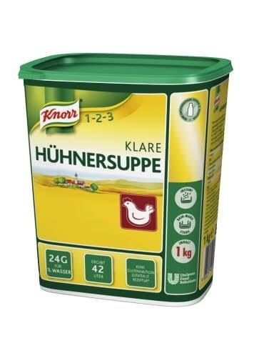 Klare Hühnersuppe ( 1 Kg Dose)