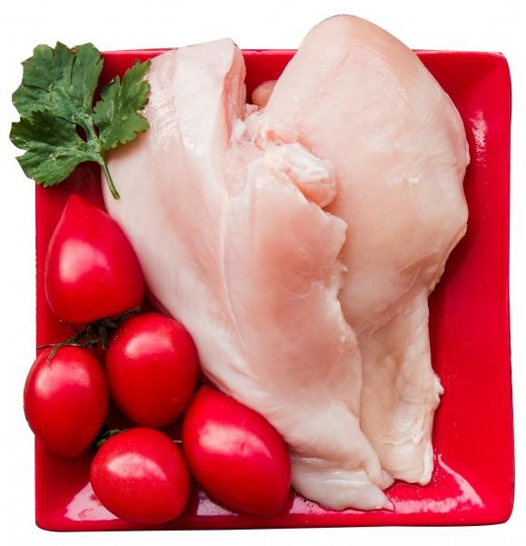 Frische Hühnerfilets (100% Halal) - 2,5 kg