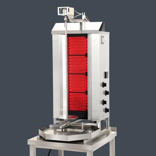 POTIS E.Dönermaschine (CE4 f. 50kg-7,6 kW 400 V)
