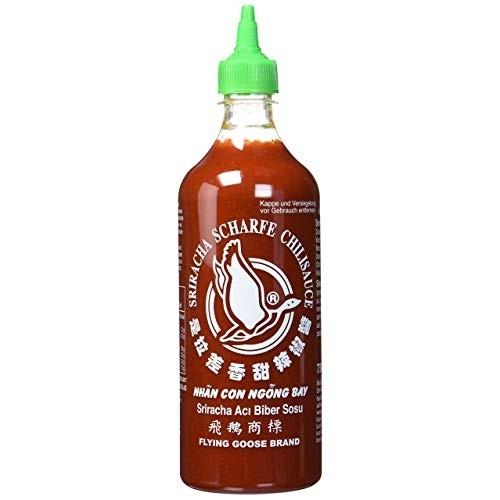 Chilisauce Sriracha(730 ml)Flying Goose-Grün(12/#)