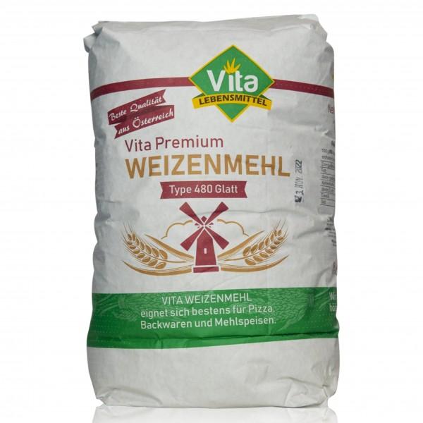 VITA Mehl Type 480 glatt 10 kg Sack