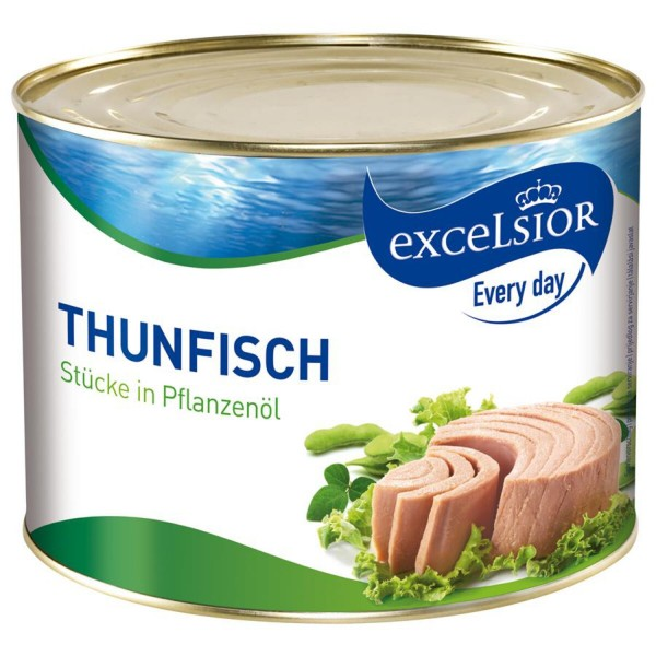 Excelsior Thunfisch Öl - 1705 g Dose