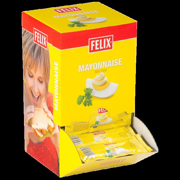 """""""Felix""""Mayonnaise Portion (100x18 gr./Krt)"""