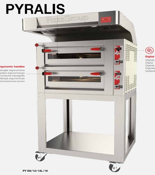 Pizza Group-Pyralis Pizzaofen (26,64 kW - 400 V)
